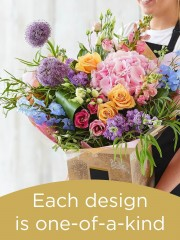 Hand-tied Bouquet £100